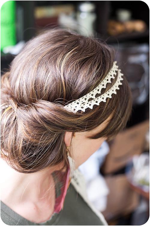 Diy accesorios para el pelo - Diademas de encaje ...