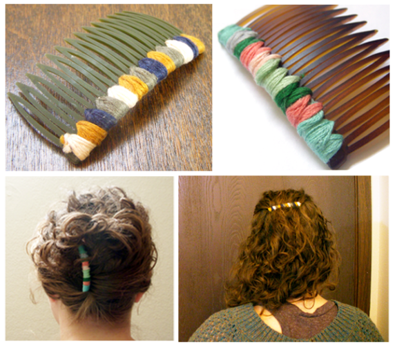 diy haircomb steps1